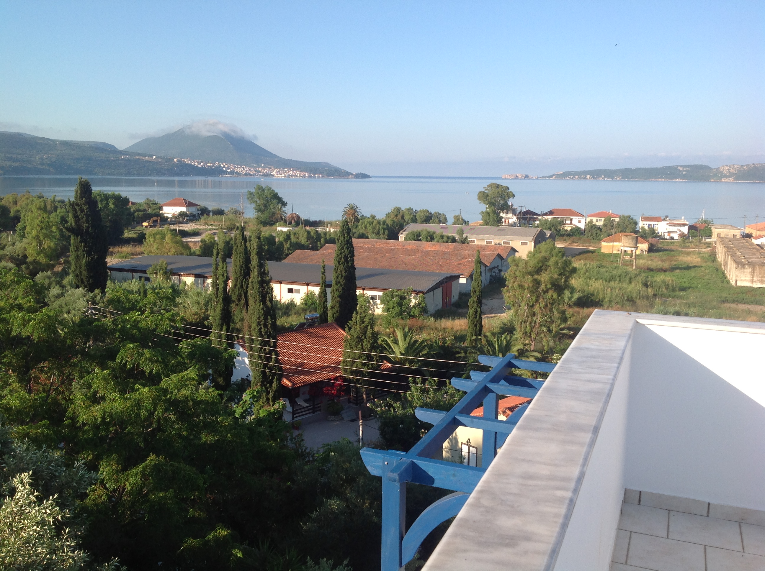Seaview from rooftop terrace at Villa Andrea